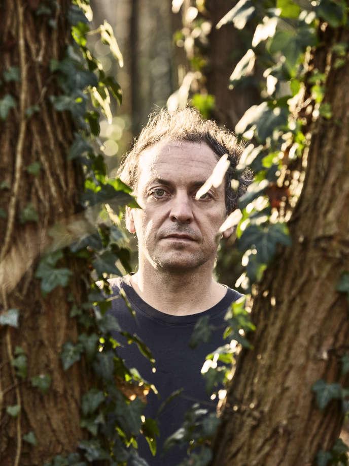 Mathieu Boogaerts, au bois de Vincennes, à Paris, en décembre 2016.