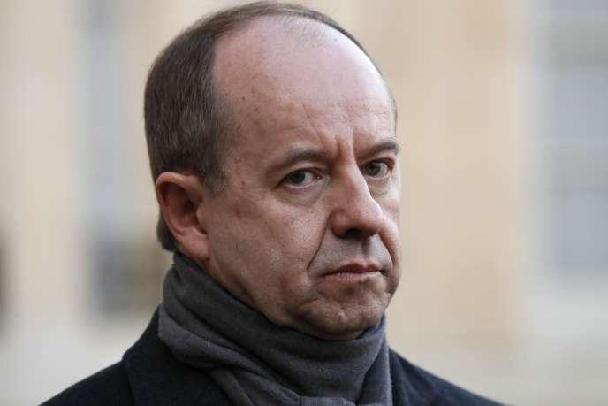 L'ancien ministre de la justice Jean-Jacques Urvoas le 10décembre 2016, à l'Elysée, à Paris.