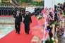 Xi Jinping et Kim Jong-un, le 19 juin à Pékin.