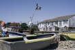 A Selsey, la pêche est restée artisanale. Les cargaisons des bateaux sont déchargées chaque jour en barque.