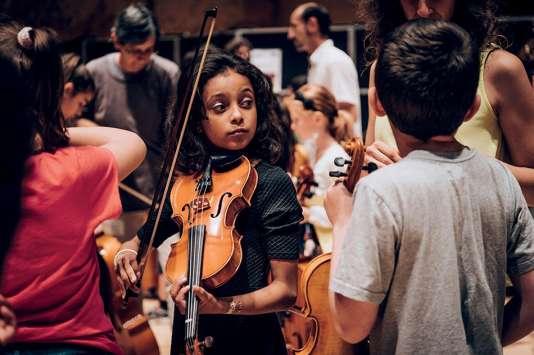 Les jeunes des orchestres Démos sont à l'honneur à la Philharmonie de Paris, le week-end des 23 et 24 juin 2018.