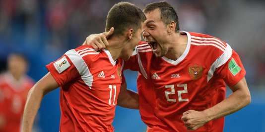 Les Russes sont qualifiés pour les 8e de finales de« leur» Mondial.