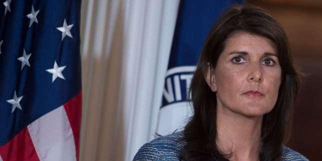 Nikki Haley, ambassadrice auprès de l'ONU, à Washington, le 19 juin.