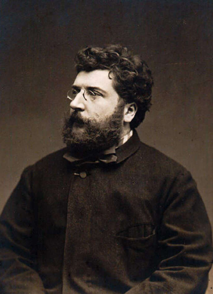 Georges Bizet en 1875.