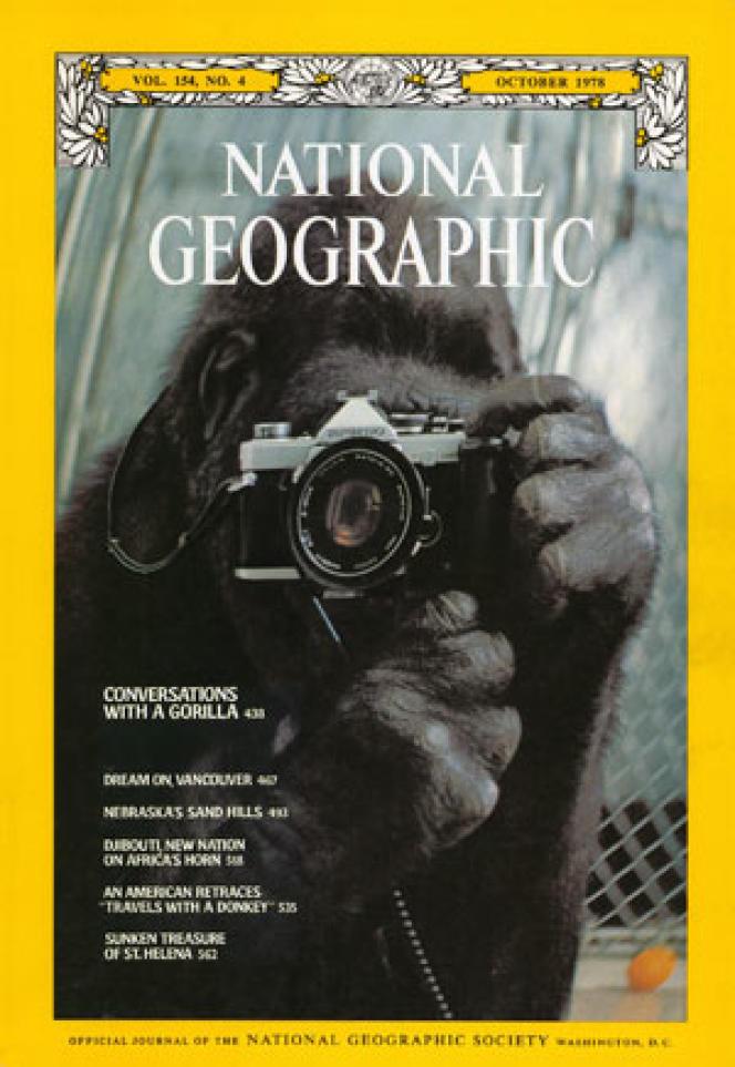 La couverture du «National Geographic», en octobre 1978.