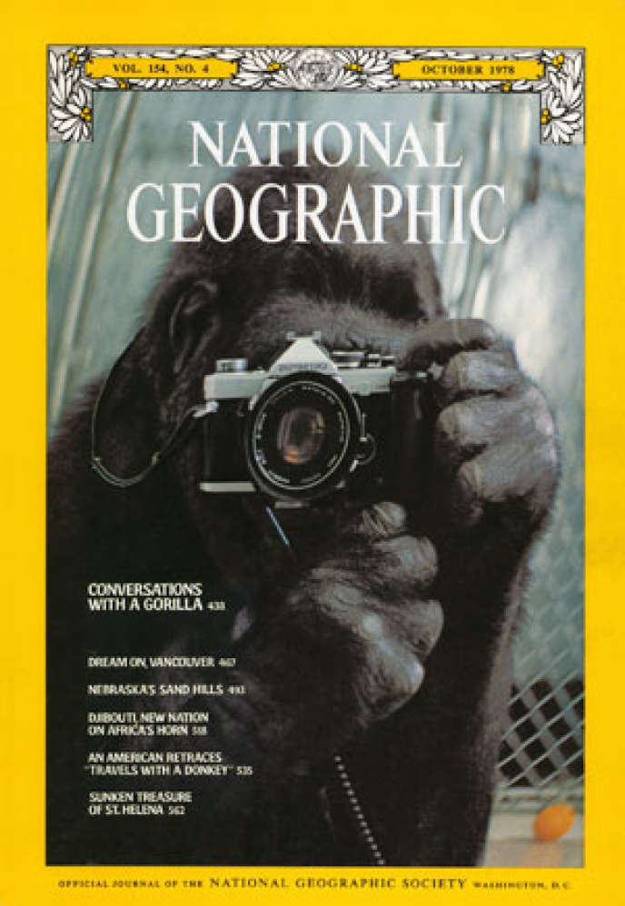 La couverture du « National Geographic », en octobre 1978.