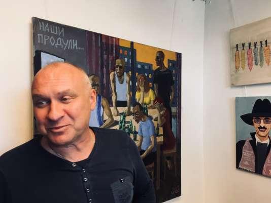 Andreï Kagadiev voisine avec « Onze capotes».