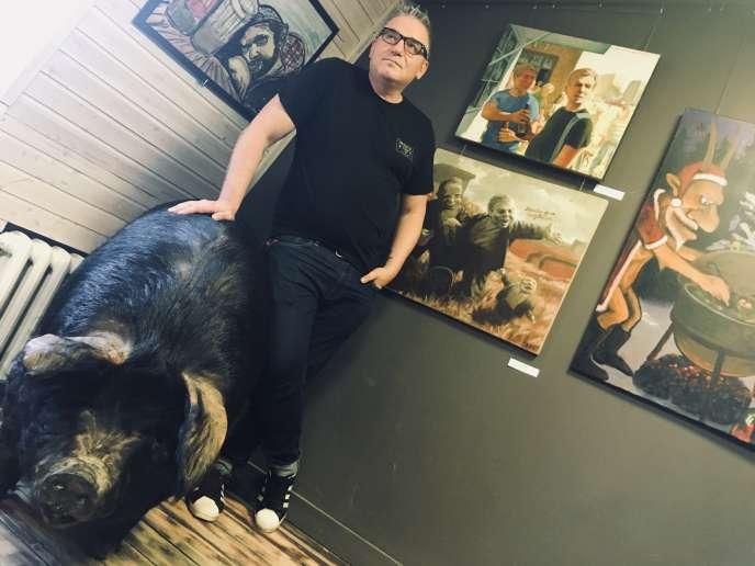 Nikolaï Kopeïkine avec le seul véritable groin de cochon de la galerie.
