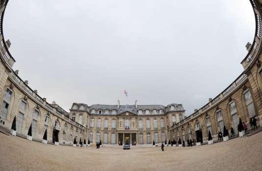 Le palais de l'Elysée.