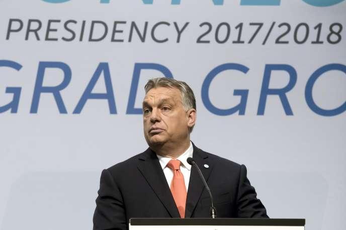 Le premier ministre hongrois Viktor Orban, le 21 juin à Budapest.