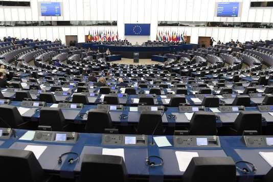 Au Parlement européen, à Strasbourg, le 12 juin.