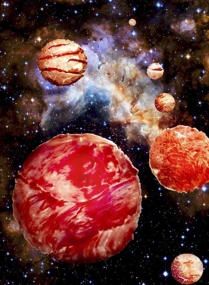 Galaxie de carpaccios.