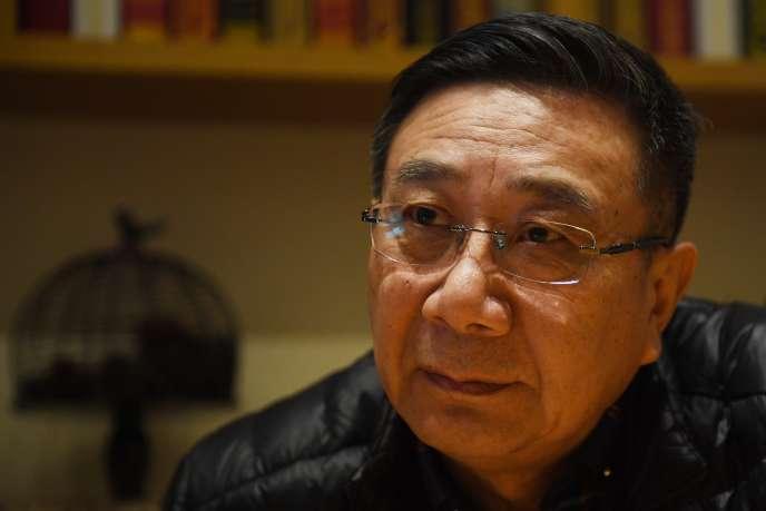 Li Datong, à Pékin, le 2 mars.