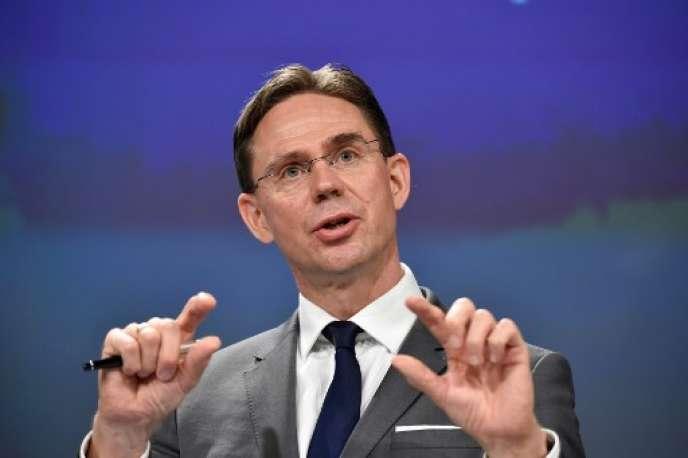 Le vice-président de la Commission européenne, Jyrki Katainen, à Bruxelles, le 28 mai.