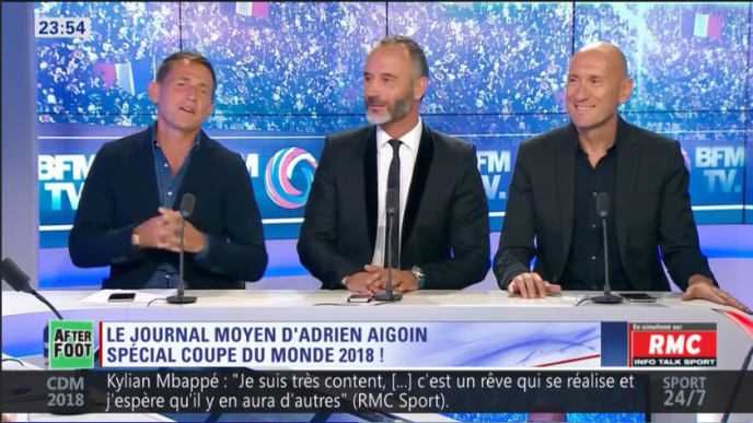 Daniel Riolo, Eric Di Meco et Gilbert Brisbois, une partie de la « dream team» BFM.
