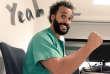 Jesus Candel, médecin urgentiste à l'hôpital Clinico de Grenade et« Spiriman».
