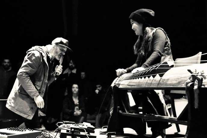 Le duo franco-coréen Moon Gogo.