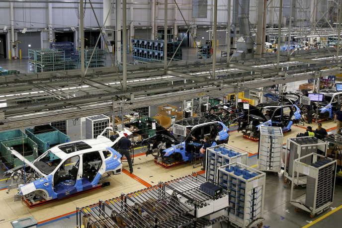 L'usine BMW de Spartanburg, en Caroline du Sud (Etats-Unis), fabrique notamment les 4x4 X4 de la marque allemande.
