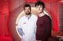 Les docteurs Richard Delorme (à gauche) et David Germanaud dans une salle d'IRM à l'hôpital Robert Debré. Ils travaillent autour des enfants, et notamment sur les questions de l'autisme et des troubles du comportement.Hôpital Robert Debré, Paris, le 21 juin 2018