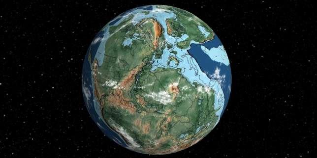 La Terre il y a 220 millions d'années.