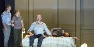 La nouvelle création deGeorge Benjamin «Lessons in love and violence» lors de sa première à Londres.