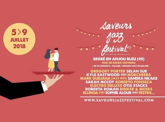 Affiche du Saveurs Jazz Festival.