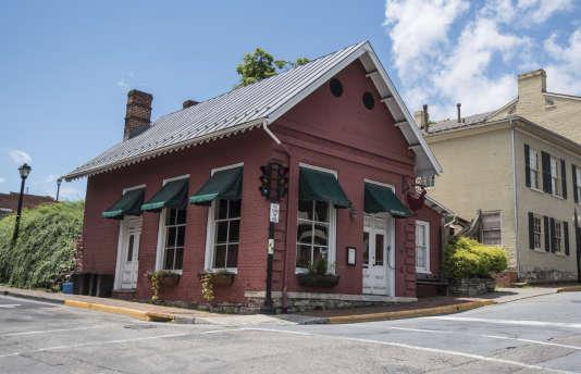 Le restaurant The Red Hen, à Lexington, le 23 juin.