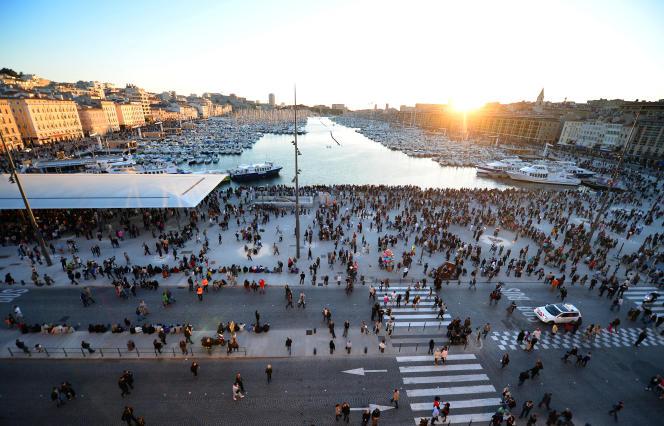 Le Vieux-Port de Marseille, le 3 mai 2013.
