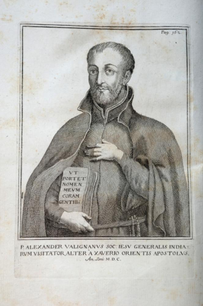 Le prêtre jésuite Alessandro Valignano.