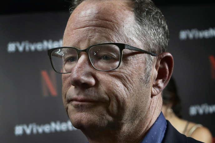 Le principal porte-parole de Netflix, Jonathan Friedland, à Mexico, le 2 août 2017.