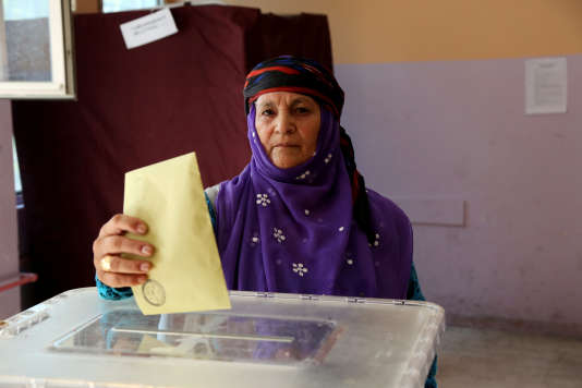 ADiyarbakir, lors des élections turques du 24 juin.