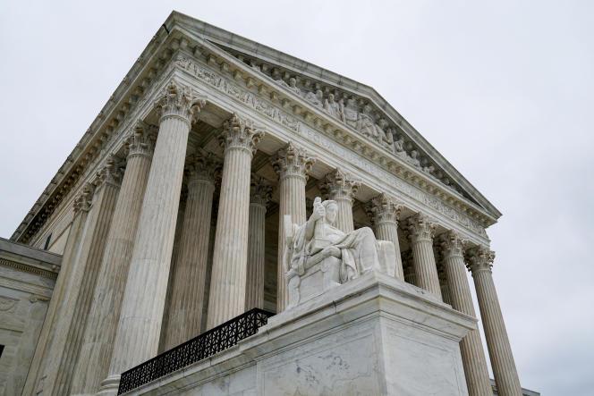 La Cour suprême américaine, à Washington le 11 juin.