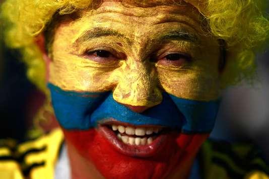 Un supporteur colombien le 24 juin à Kazan.