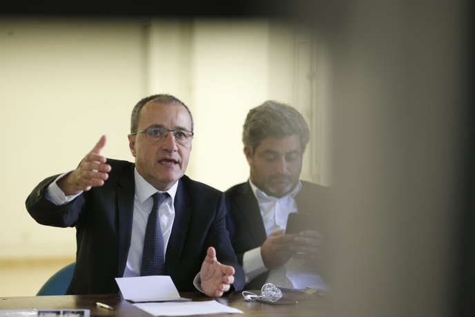Le président de l'Assemblée de Corse Jean-Guy Talamoni, le 23 mai à Bastia.