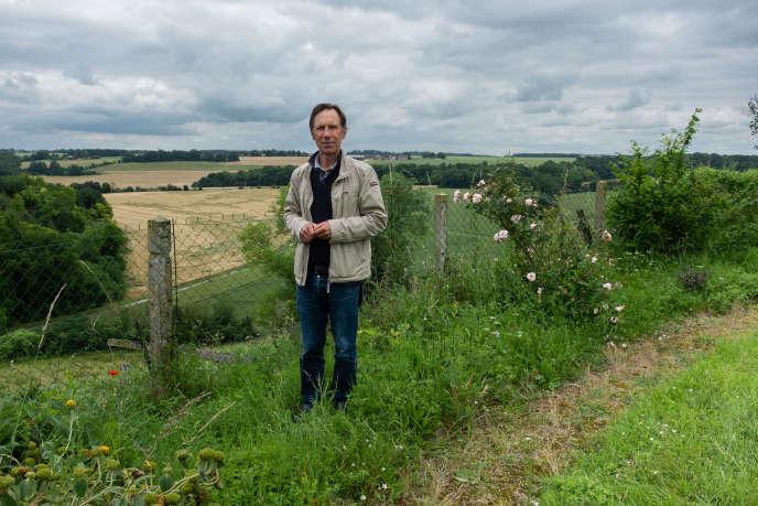 Jean Bieuville, 56ans, a créé en2016 l'association de défense des agriculteurs, des propriétaires fonciers et de la ruralité (ADAPFR).