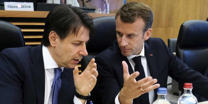 Macron en Italie pour relancer la relation entre les deux pays