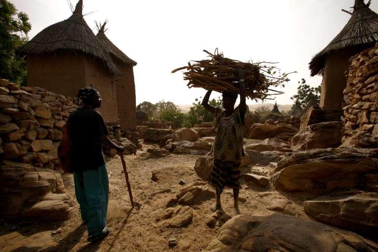 Le village dogon de Nomburi, dans le centre du Mali.