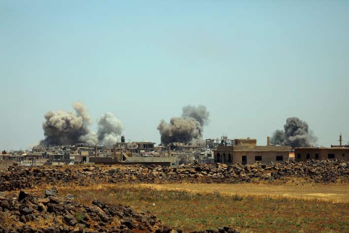 Près de Deraa, le 25 juin.