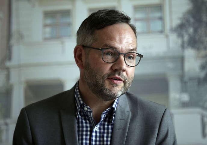 Michael Roth, à Istanbul, en 2017.