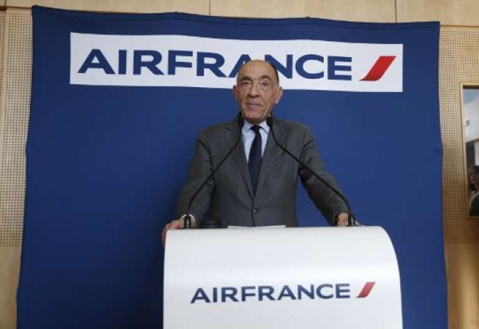 Jean-Marc Janaillac, ancien PDG d'Air France-KLM.