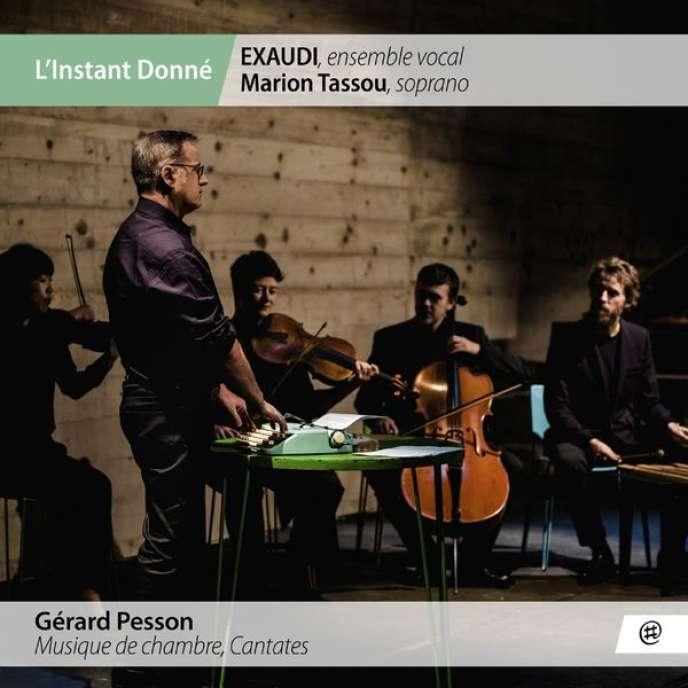 Pochette de l'album«Musique de chambre, Cantates», de Gérard Pesson.