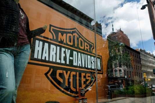 Un magasin Harley-Davidson à New York, le 25 juin 2018.