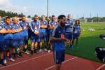 Jimmy Durmaz et l'équipe suédoise de football, dimanche 24 juin.