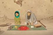 Parvana et son père Nurullah.
