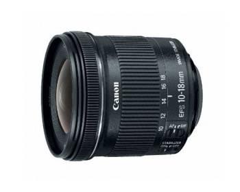 Pour les paysages et les espaces étroits Canon EF-S 10-18mm f/4.5-5.6