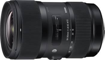 Un objectif qui offre plus de piqué que celui vendu avec le kit Sigma 18-35mm f/1.8 DC HSM