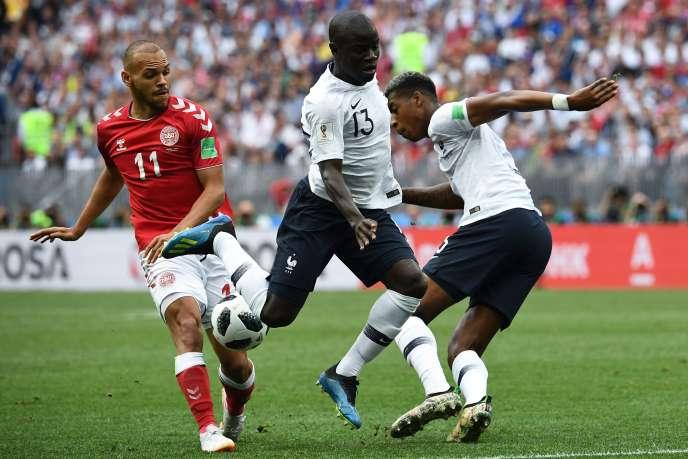 Les Bleus ont été neutralisés (0-0) par le Danemark, mardi 26 juin, à Moscou.
