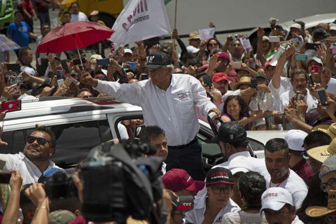 Andrés Manuel López Obrador,le 3 juin, à Mexico.