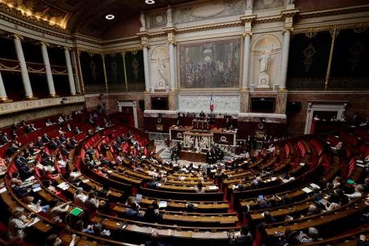 L'Assemblée nationale, le 26 juin 2018.