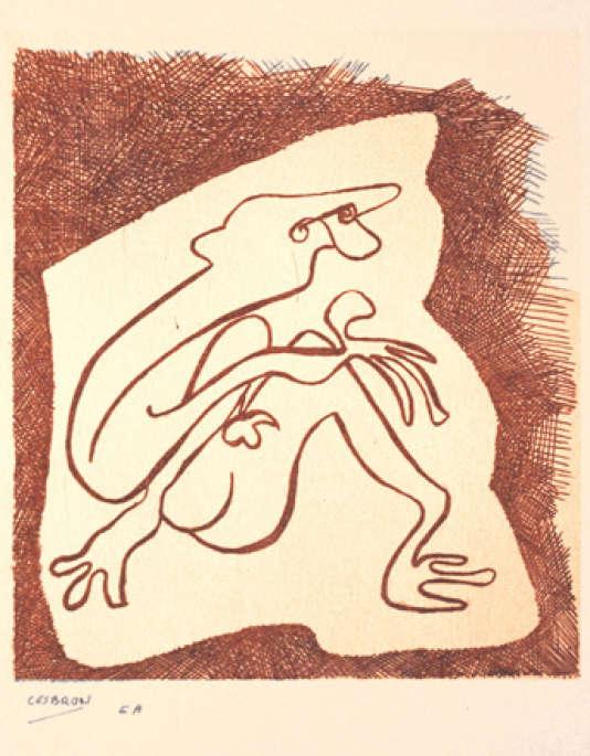 «Lithographie», 1985, de Christophe Cesbron.